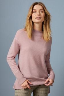 Capture Lambswool Funnel Neck Sweater