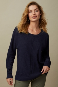 Capture Lambswool Dolman Sleeve Sweater