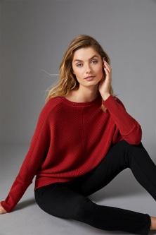 Capture Merino Ribbed Dolman Sweater