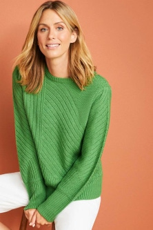 Capture Rib Patterned Sweater