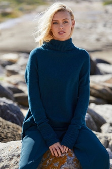 Emerge Merino Roll Neck Sweater