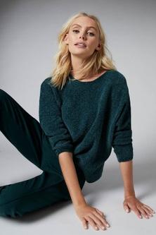 Emerge Chenille Batwing Sweater