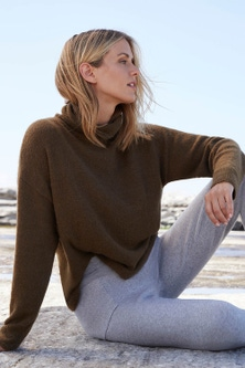 Capture Lofty Roll Neck Sweater