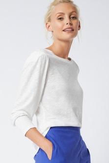 Emerge Puff Sleeve Knit Top