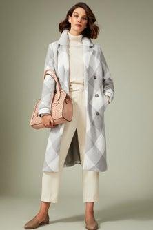 Grace Hill Wool Blend Coat