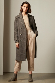 Grace Hill Wool Blend Coat