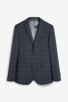 Next Tollegno Signature Birdseye Check Suit: Jacket