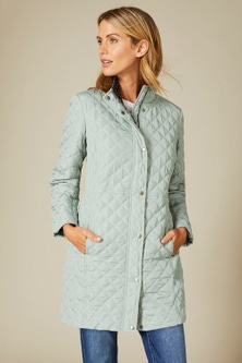 Capture Quilted Longline Puffer Jacket
