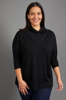 Sara Merino Cowl Neck Sweater