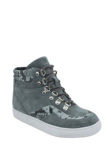 Human Premium Vibe Lace Up Wedge Sneaker