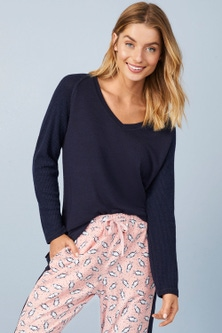 Mia Lucce Ribbed Top