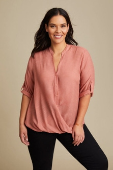 Sara Cross Over Shirt