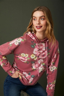 Capture Printed Hooded Sweatshirt