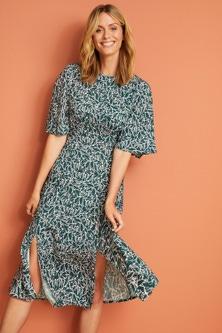 Capture Printed Midi Dress