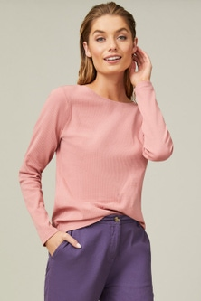 Capture Ribbed Long Sleeve Top