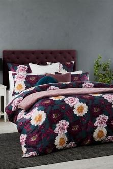 Luxe Floral Duvet Cover Set
