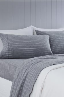 Portland Cotton Flannelette Sheet Set