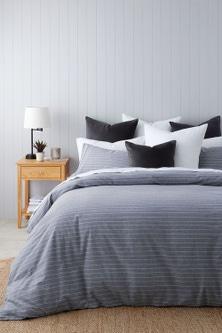Portland Cotton Flannelette Duvet Cover Set
