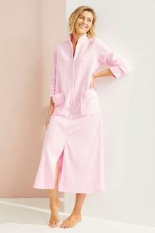 Mia Lucce Zip Front Robe