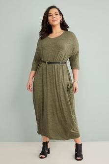 Sara Drape Dress