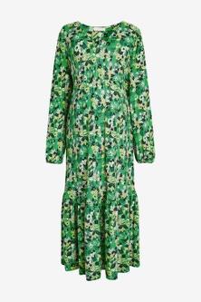 Next Maternity Jersey Tiered Dress