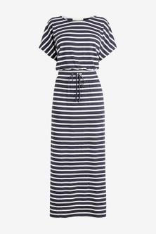 Next Short Sleeve Maxi Dress