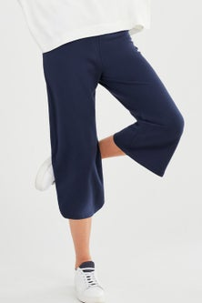 Capture Cropped Pull On Culotte
