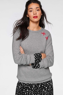 Urban X-Stitch Detail Pullover