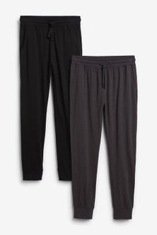 Next Cuffed Pyjama Bottoms 2 Pack