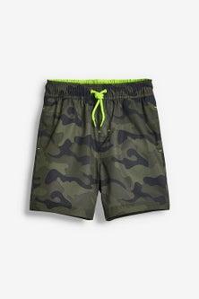 Next Camo Swim Shorts (3-16yrs)