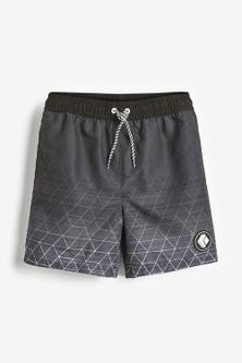 Next Geo Print Swim Shorts (3-16yrs)