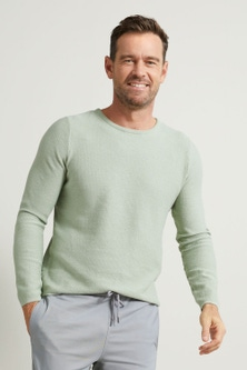 Southcape Textured Crew Neck Sweater