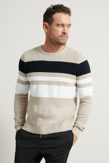 Southcape Textured Colorblock Sweater