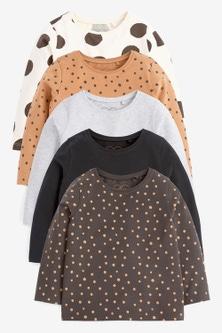 Next 5 Pack Basic T-Shirts (3mths-7yrs)