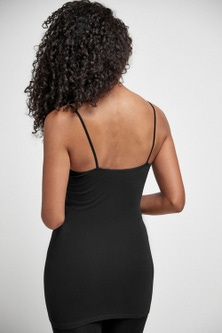 Next Lace Trim Cotton Blend Longline Vests Two Pack