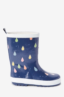 Next Colour Changing Raindrop Wellies (Older)