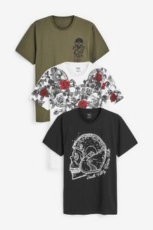 Next Graphic T-Shirts Three Pack