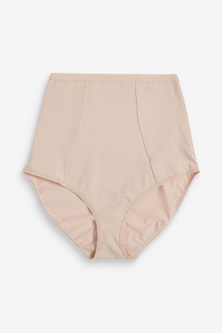 Next Light Control Cotton Blend Shaping Knickers