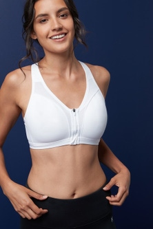 Next High Impact Zip Front Sports Bra