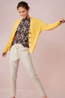 Emerge Cotton Blend Cardigan