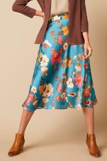 Capture Panel Midi Skirt