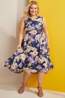 Sara Flowy Dress