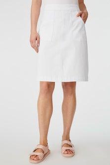 Capture Patch Pocket Denim Skirt