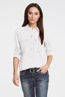 Heine Half Placket Shirt