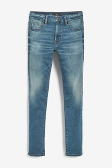 Next Super Stretch Comfort Jeans-Skinny Fit