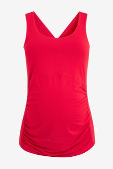 Next Maternity Sports Top With Cross-Back Detail