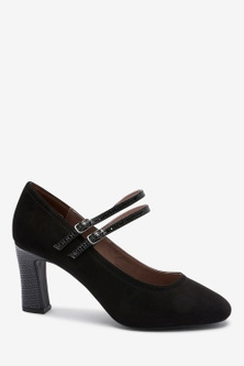 Next Mary Jane Shoes-Extra Wide Fit