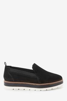 Next EVA Leather Slipper Shoes