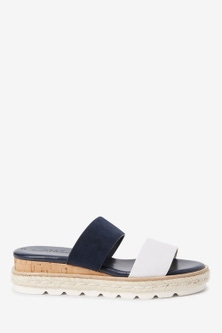 Next Two Band Mule Wedges