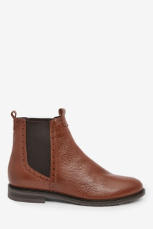 Next Signature Chelsea Boots-Wide Fit